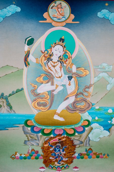 Machig Labdrön with Padampa Sangye I