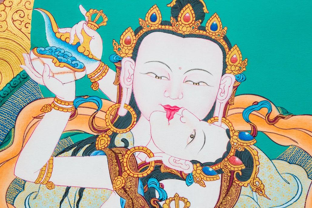 Karma Gadri style.