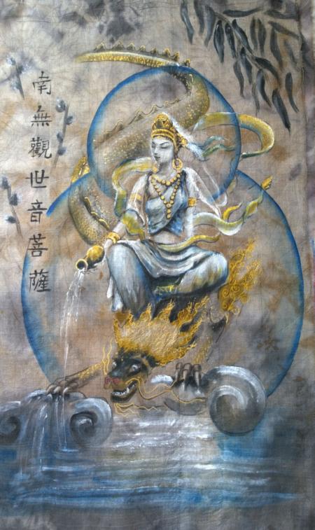 Kuan Yin and Dragon II