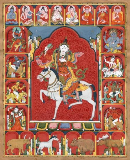 By Flera Birmane.  Upcoming galleries at www.dakiniasart.org.
