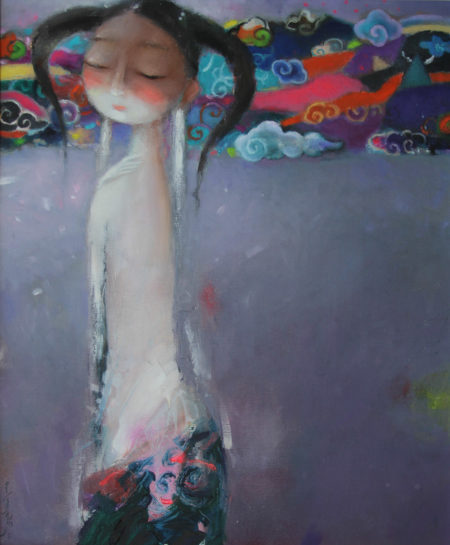 80 x 70 cm, oil on canvas, $ 2500