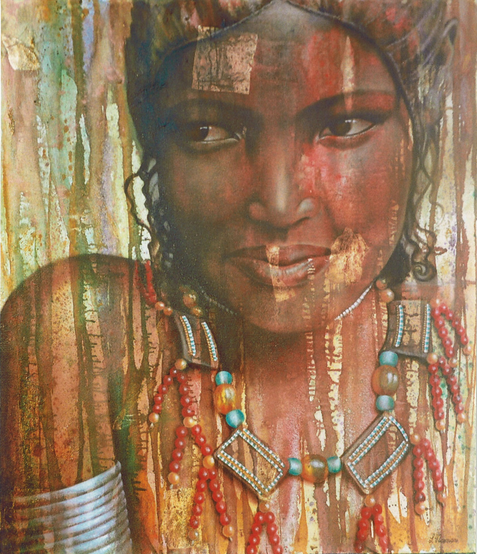 Africa (Original) - Simona Marziani ~ Dakini As Art